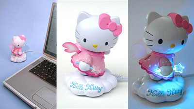 Sujeta chupetes de Hello Kitty
