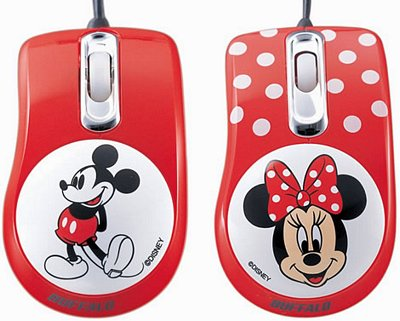 Ratones de Mickey y Minnie