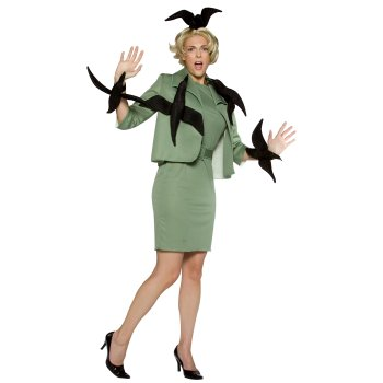 Disfraz de Tippi Hedren especial para Halloween