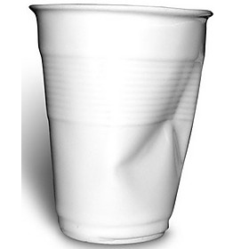 Vaso arrugado de cermica