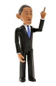 Figura coleccionable de Obama