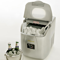 Mini Contessa Ice Maker, haz cubitos en 10 minutos