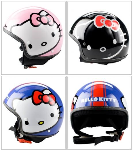 Foto de Cascos de Hello Kitty