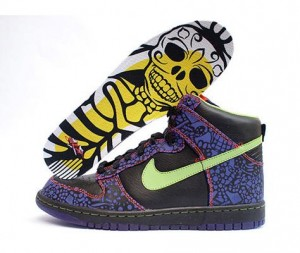 Zapatillas Nike especial Halloween