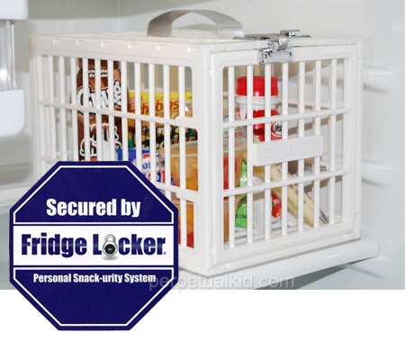 Fridge Locker, jaula para nevera