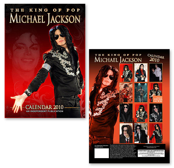 Calendario de Michael Jackson 2010