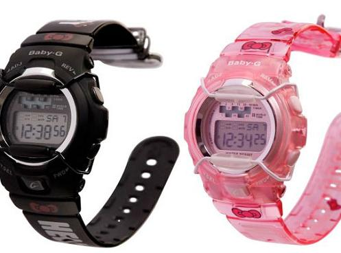 Reloj Casio Baby G de Hello Kitty