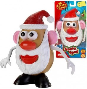 Mr Potato navideño
