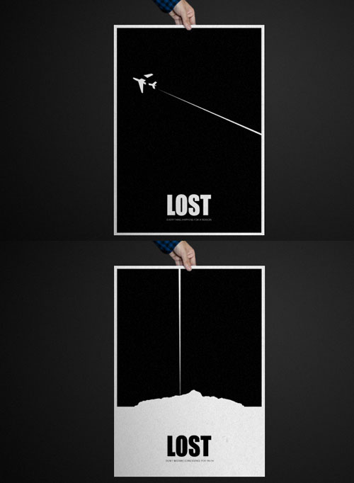 Original Póster de Lost