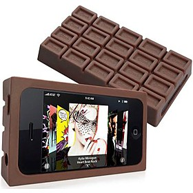 Funda iPhone de chocolate