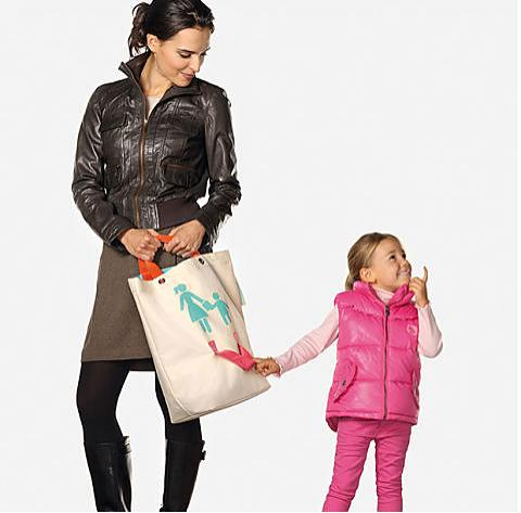Bolso madre e hijos 'shopping bag'