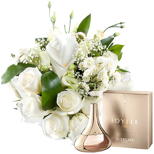 Perfume Idylle con bouquet exclusivo