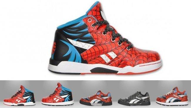 Zapatillas Spiderman de Reebok