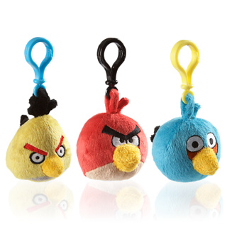 Llaveros Angry Birds coleccionables