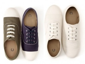Fred Perry rescata las zapatillas de loneta