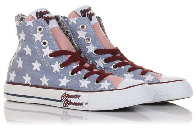 Converse Wonder Woman y Catwoman