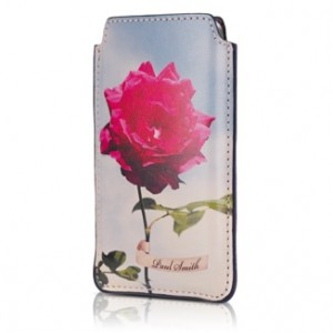 Funda de piel de Paul Smith para el iPhone 4