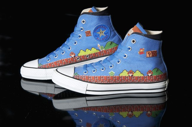 Zapatillas Converse Mario Bros