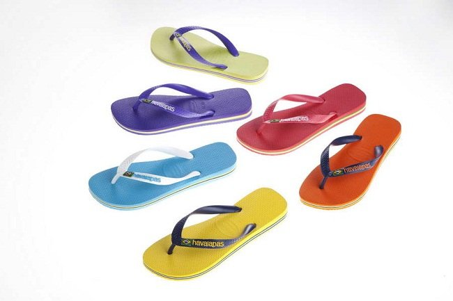 Atractivas Havaianas Brasil Logo