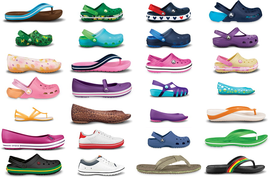 Foto de Los Crocs más coloridos con Color Blocks