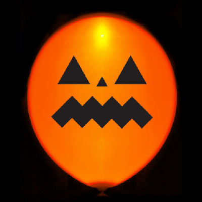 Globos luminosos LED para Halloween