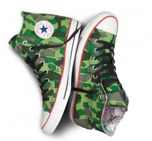 Converse y sus zapatillas cumpleaeras de Gorillaz
