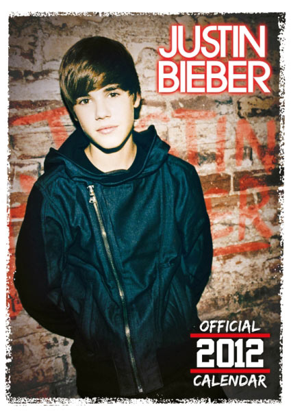 Calendario 2012 de Justin Bieber