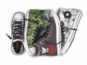 Converse y su coleccin de zapatillas Gorillaz