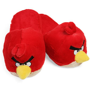 Zapatillas de casa de Angry Birds