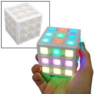 Cubo Rubik multi LED