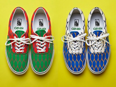 Coleccin de zapatillas Vans en colaboracin con Kenzo