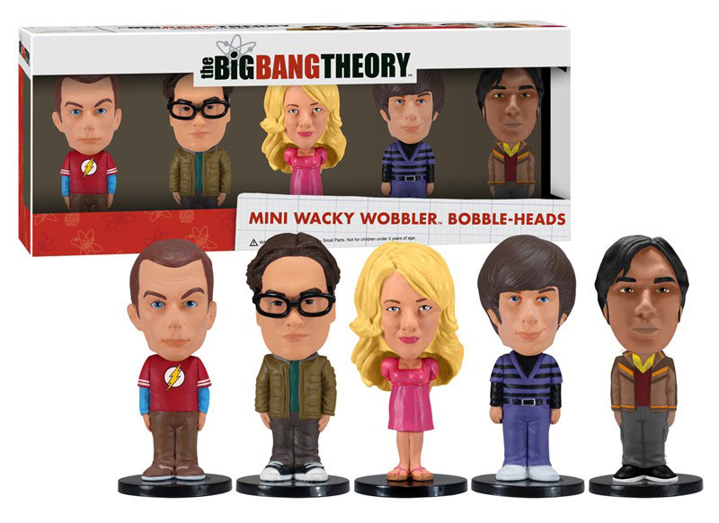 Foto de Cabezones de la serie The Big Bang Theory