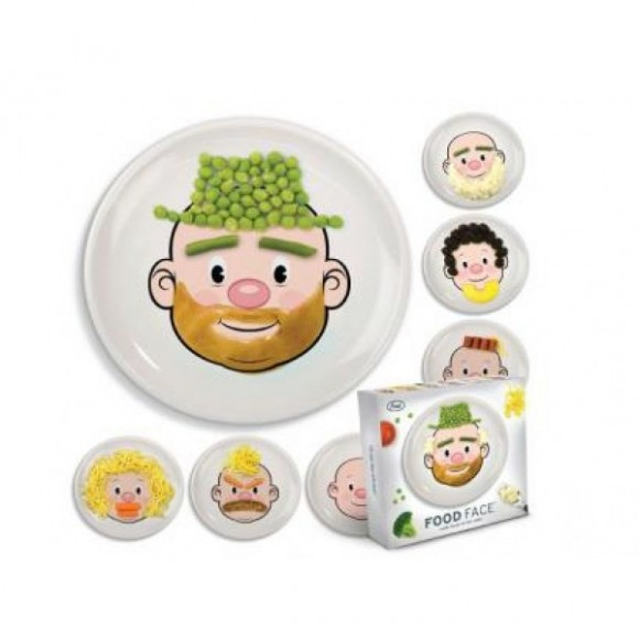 Foto de Platos Food Face infantiles