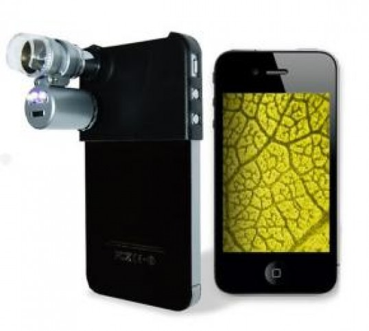 Microscopio para iphone 4