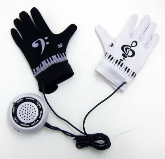 Guantes musicales