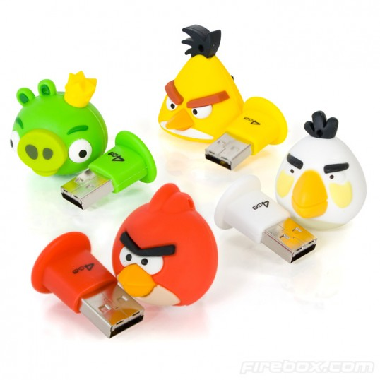 Memoria USB Angry Birds