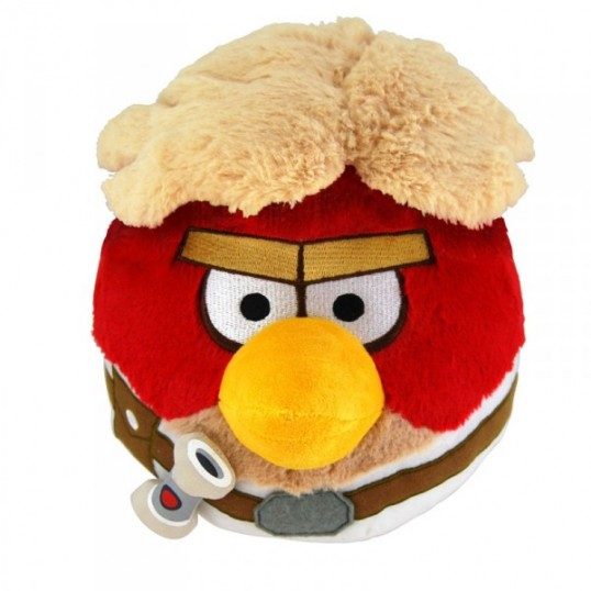 Peluche Angry Birds Luke Skywalker