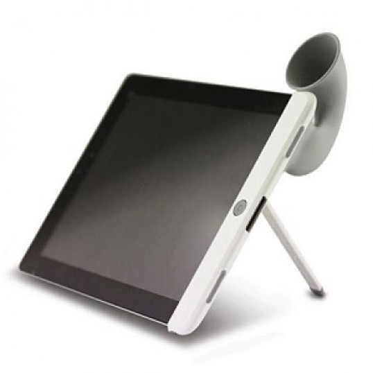 Soporte altavoz trompetilla para Ipad