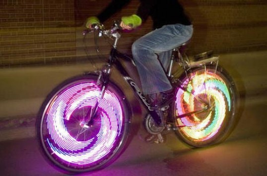 Luces LED para ruedas de bicicleta Monkey Electric