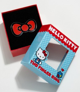 Anillo lazo Hello Kitty