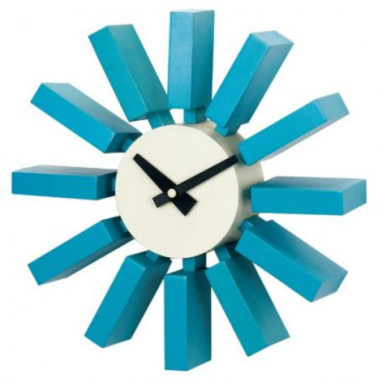 Reloj de pared Block Clock de George Nelson