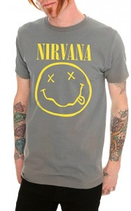 Camiseta chico Nirvana