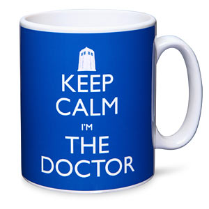 Taza Keep the calm, i'm the doctor