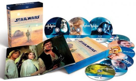 Pack de Blu Ray de Star Wars
