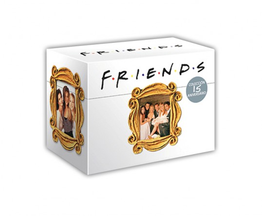 Cofre 15 aniversario de la serie Friends