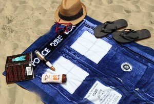 Toalla para ir a la playa de Doctor Who