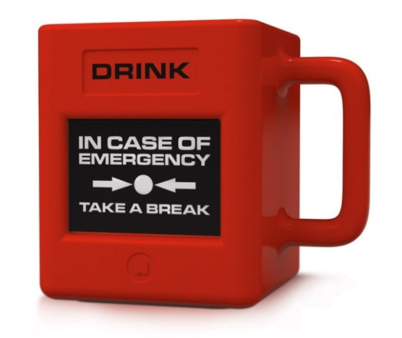 Taza de emergencias Take a Break
