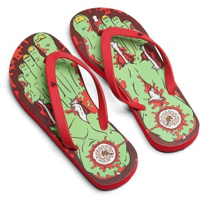 "Unas ""chanclas"" zombies para ir a la playa"