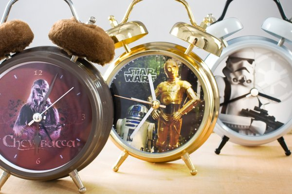 Relojes parlanchines de Star Wars