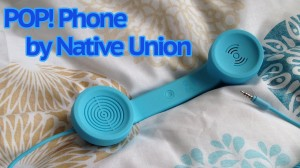 "Auricular Retro ""Pop Phone"" de Native Union"